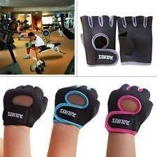 Luvas Para Exercício Físico Musculação / Emborrachada
