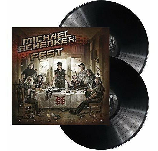 Msg Michael Schenker Fest - Resurrection 2x Lp Vinil Import
