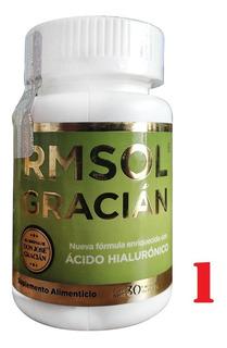 1 Frasco Rmsol Gracian Con Ácido Hialurónico - 30 Tabletas