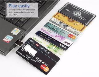 Usb Flash Drive 32 Gb Modelo Tarjeta De Credito