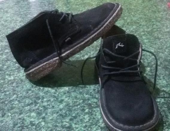 Zapatos De Gamuza Rusty