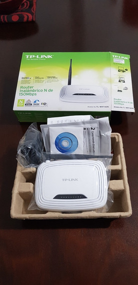 Tp-link Router Inalambrico 150 Mbps - Tl-wr740n