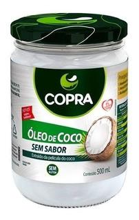 Oleo De Coco Sem Sabor - 500ml Copra