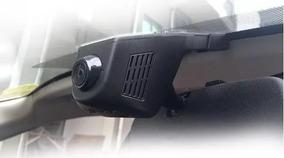 Câmera Segurança Para Uber 99 Taxi Taxista. 2 Lentes E Áudio