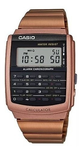 Relógio Casio Rose Digital Data Bank Ca-506c-5adf Original