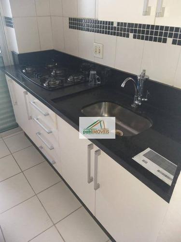 Apartamento Com 3 Dormitórios Para Alugar, 60 M² Por R$ 1.350,00/mês - Vila Carrão - São Paulo/sp - Ap0130
