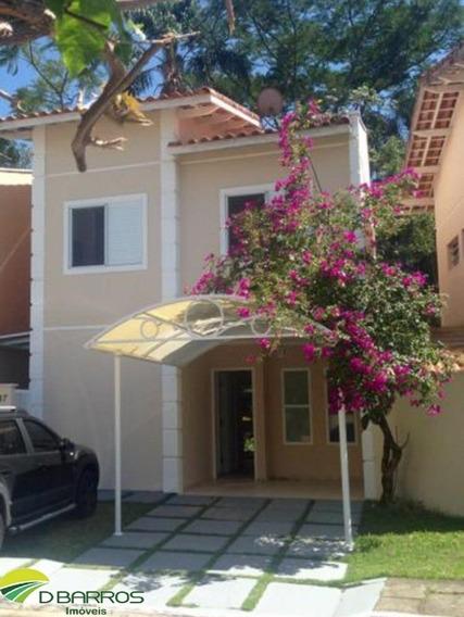 Lindo Sobrado Com 3 Dormitórios Condomínio Fechado - Bosque Dos Pássaros Tremembé / Sp. - 4643 - 34645135