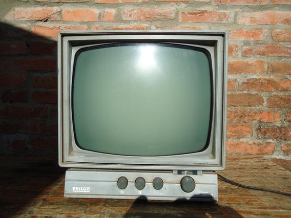 Antiga Tv Philco 12 Polegadas Para Conserto Ou Peças