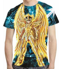 Camisa Cavaleiros Do Zodiaco Camiseta Seiya - Estampa Total