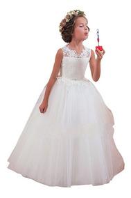 Vestido Infantil Festa Casamento Daminha Batizado Florista
