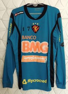 Sport Recife 2011 M Usada Treino Sem Defeito Oficial Lotto