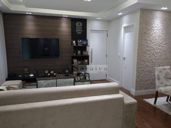 Apartamento Com 3 Dormitórios À Venda, 132 M² Por R$ 1.200.000 - Vila Marlene - São Bernardo Do Campo/sp - Ap1400