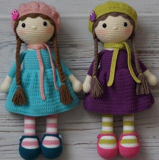 5 apaixonantes modelos de bonecas de amigurumi - Viver de Artesanato | 320x319