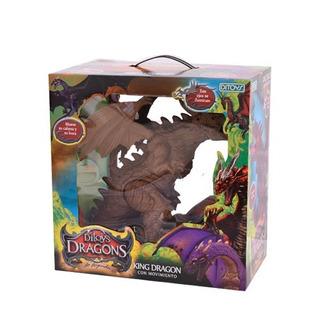 Juguete Original Ditoys Dragon King Con Luces Sonidos Promo!