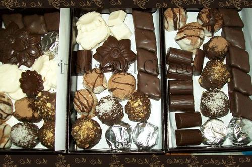 Imagen 1 de 10 de Promo 2 Kg Bombones Vegan Chocolate Puro +1/4 Y Envio Gratis