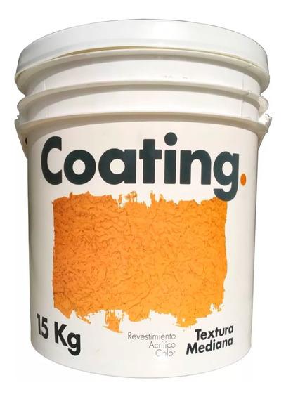 Revestimiento Texturado Medio Color Int. Ext. Coating 15 Kg (tipo Revear - Tarquini)