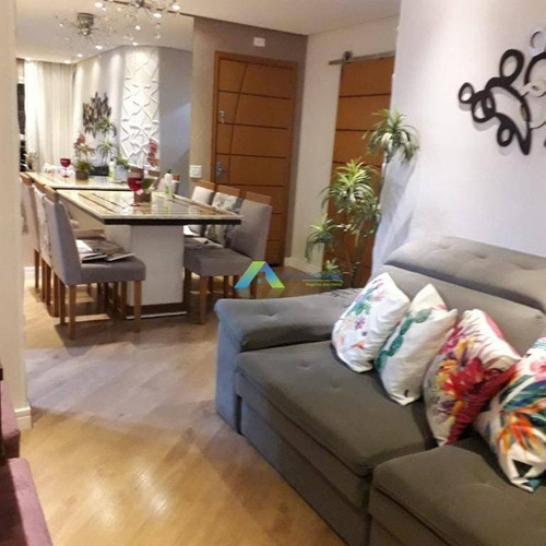 Apartamento 3 Dorms, 1 Suíte, 1 Banheiro, Sala, Cozinha, Lavanderia, Ensolarado, Iluminado, Bem Distribuído, Vistas Amplas, 2 Vagas De Garagem . - Ap4571