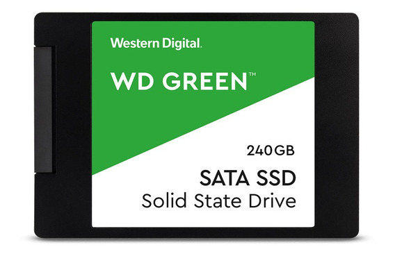 Ssd 240gb Wd Green Leitura 540mb/s Sata3 2,5 6gb/s Original