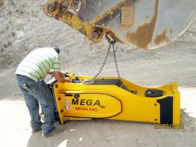 Martillo Hidraulico Marca Mega 340 Para Excavadora Nuevo