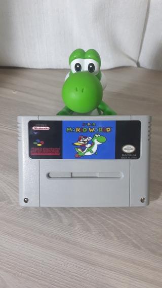Super Mario World Cartucho De Super Nintendo