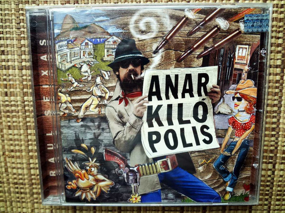 Cd Raul Seixas - Anarkilópolis / Cd Raro