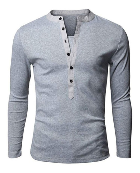 Playera Slim Fit Caballero Hombre Camisa Casual Moda Polo