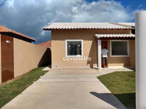 Casa Com 2 Dormitórios À Venda, 64 M² - Barroco (itaipuaçu) - Maricá/rj - Ca4787