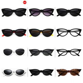 8288dba89 77042 Vendimia Sexy Gato Ojo Gafas De Sol Sol Gafas Para Muj