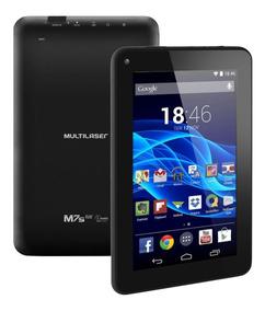 Tablet Multilaser Nb184 M7s Quad Core Preto Android 4.4 Du