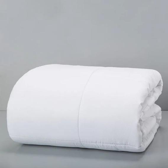 Relleno Para Acolchado King Size Micro Liso - Color Blanco