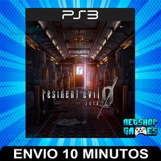 Resident Evil 0 Zero - Ps3 Digital - Español - Entrega Ya