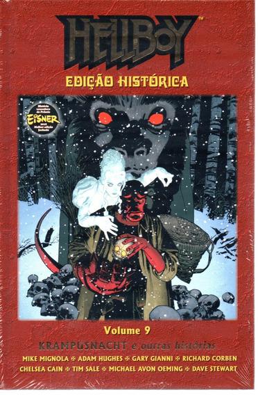 Hellboy Edicao Historica 09 - Mythos 9 - Bonellihq Cx266 D19