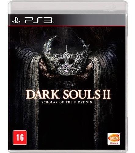 Jogo Novo Dark Souls 2 Scholar Of The First Sin Para Ps3