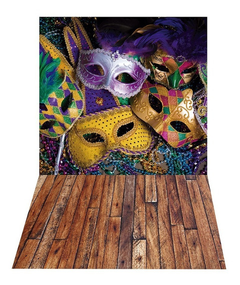 Fundo Ensaio Fotográfico Cenário Carnaval 2,2x1,4m - Ff040
