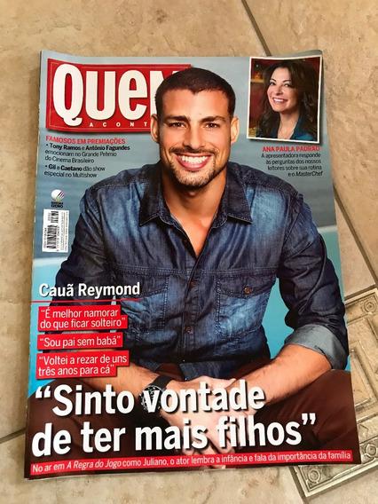 Revista Quem Cauâ Reymond Ana Paula Padrão Marcius Melhem