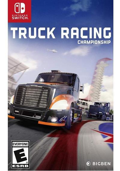 Truck Racing Championship Switch Mídia Física Novo Original