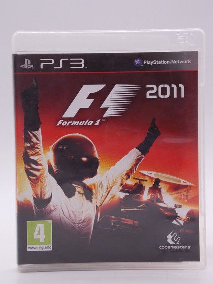 F1 2011 Play Station 3 Original Mídia Física