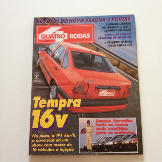 Revista Quatro Rodas Tempra 16v Verona Perua Omega A253