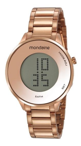 Relógio Mondaine Masculino Rosê 53786lpmvre2 - Digital