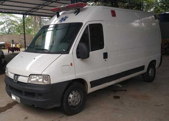 Ambulancia Boxer 2015 Teto Alto