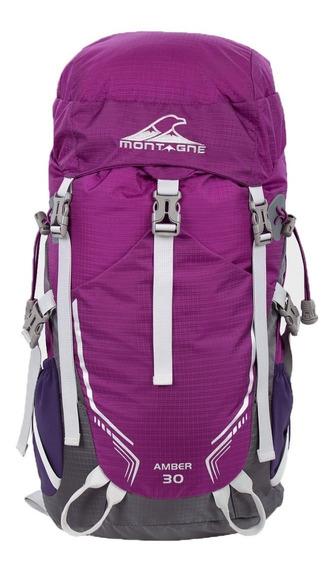 Mochila Amber Camping 30 Lts Montagne Trekking Montaña