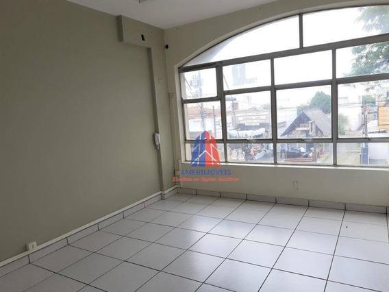 Sala Para Alugar, 127 M² Por R$ 1.100/mês - Edifício Rose Moutran - Jardim Girassol - Americana/sp - Sa0044