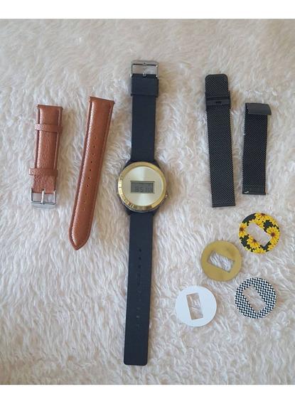 Relógio Touch Intercambiável