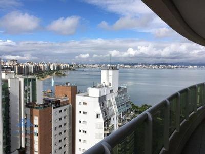 Apartamento De Alto Padrão - Beira Mar Norte - Vista Para O Mar- Florianópolis Sc - Ap2481