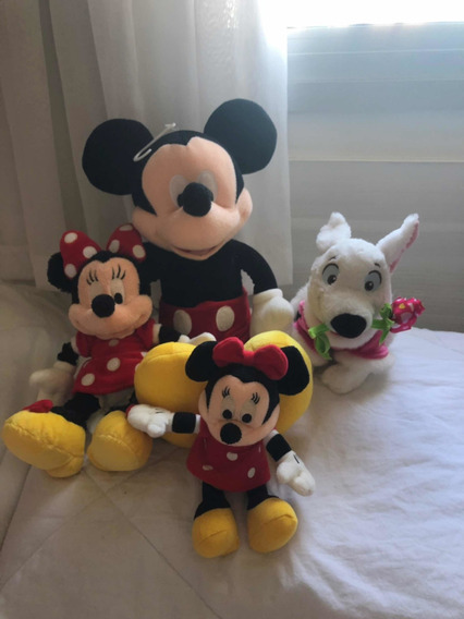 Kit Pelúcias Disney