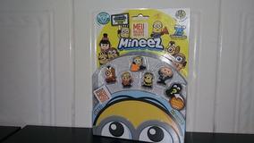 6 Miniatura Colecionável Minions Original