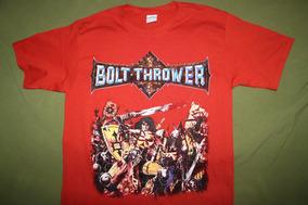 Gusanobass Playera Rock Metal Bolt Thrower Warmaster 2 X L
