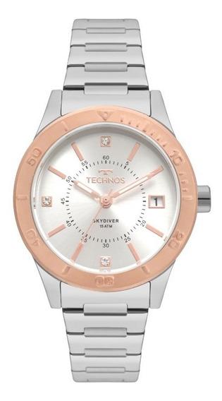 Relógio Technos Skydiver Feminino 2115moy/5k