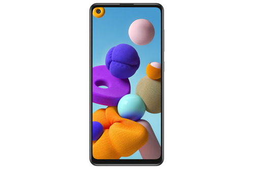 Imagen 1 de 6 de Celular Samsung Galaxy A21s 64gb 4gb Ram Silver