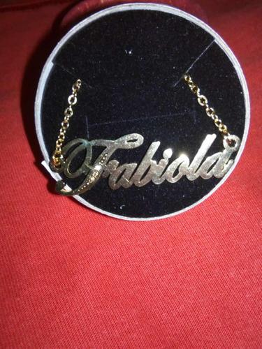 63b422bbd617 Collar Nombre - Collares y Cadenas en Mercado Libre Perú